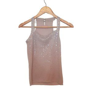 Tops - Square Neck Sequined Top